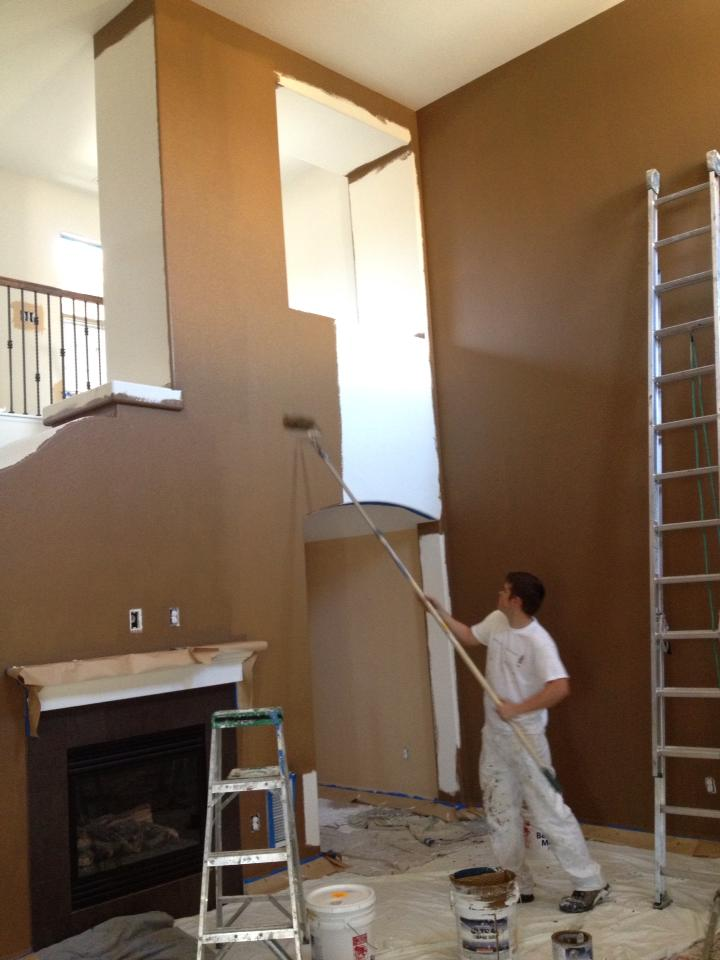 Painting Tall Ceilings
