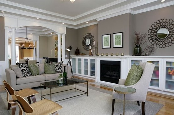 Love This Living Room Paint Color Storm Benjamin Moore My ...