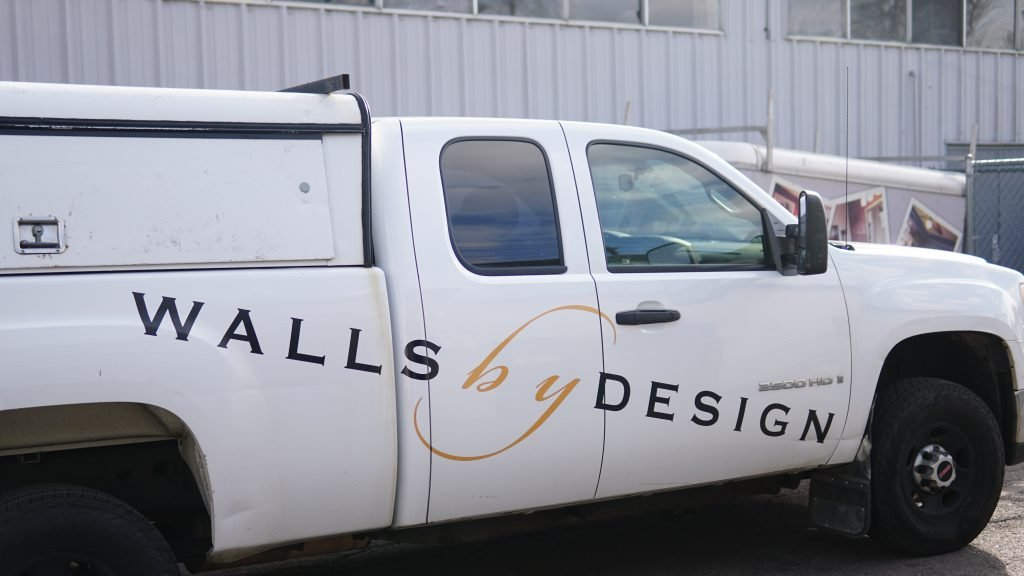 painting contractor truck for moving trailers