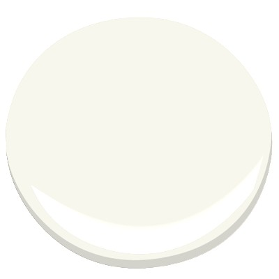 Benjamin Moore's color of the year Simply WHite