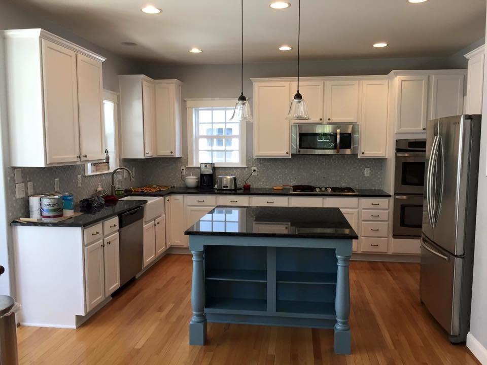 cabinets - paint contractor Denver