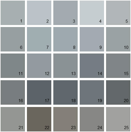 Benjamin moore gray house paint colors swatch 08 denver for Light gray color swatch